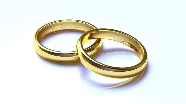 Заговор на обручальные кольца