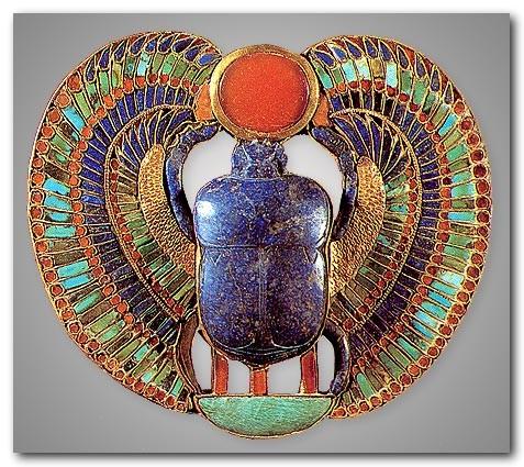 Egyptian amulets scarab