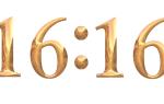 Значение числа 16 16 на часах в ангельской нумерологии