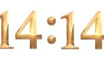Нумерология числа 14 14 и значение на часах