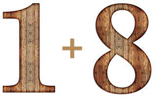 Значение цифр 1 и 8, их сочетание