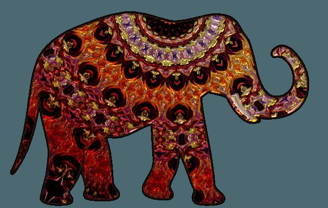 Амулет слон