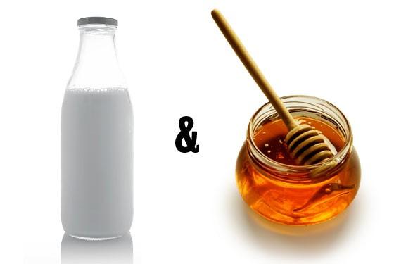 молоко мед